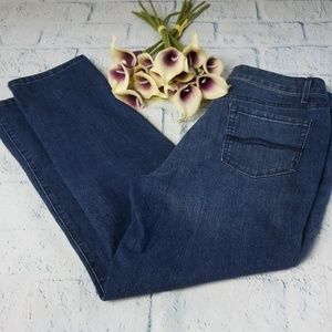 Bandolino Mandie Slim Straight Leg Jeans